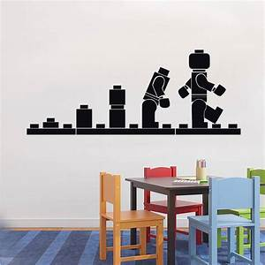 lego evolution decal wall sticker home decor art vinyl With lego wall decals