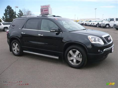 gmc acadia slt awd  carbon black metallic