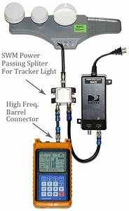 Tracker Light Satellite Signal Meter Finder  Swm Compatible Directv Free To Air