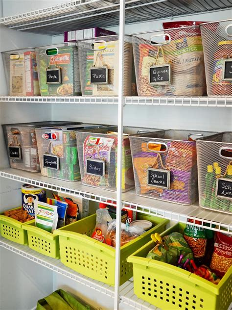 kitchen organization ideas 20 best pantry organizers hgtv