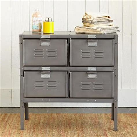 locker style dresser school gray locker cabinet 3834