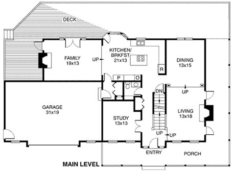 Traditional Style House Plan 10862 with 2607 Sq Ft 3 Bed
