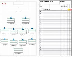 Image gallery soccer lineup for Soccer starting lineup template