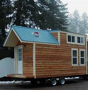Tiny House Mobil : this mobile tiny house looks like a cabin inside and out ~ Orissabook.com Haus und Dekorationen
