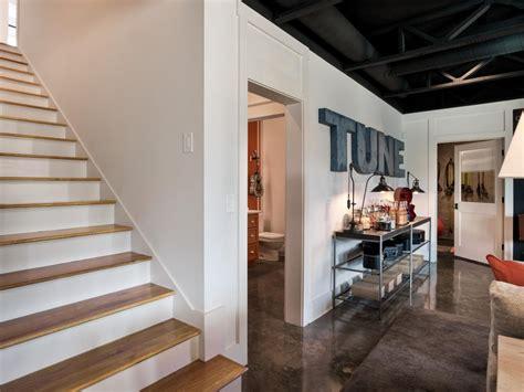 basement rec room  hgtv smart home  home gym