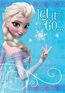 Frozen Elsa Let it Go Birthday Card - Greeting Cards ...