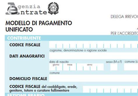 Ufficio O Ente F23 - modello di pagamento f23 editabile