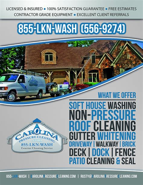 flyers for estimate for house washing flyers www
