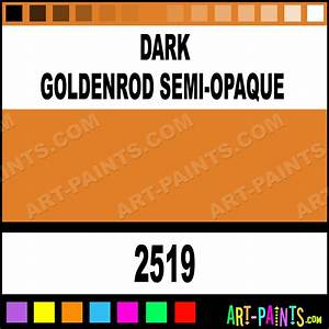 Dark Goldenrod Semi Opaque Delta Acrylic Paints 2519