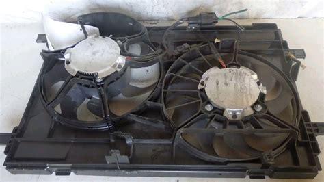 location of the radiator fan module