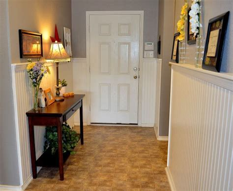 Entry Hallway, Wainscoting, Beadboard   My Design