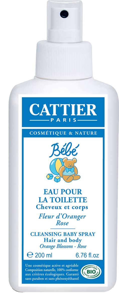 produits de toilette bebe cattier eau de toilette b 233 b 233 parfume et rafra 238 chit 200 ml boutique bio