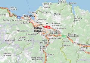 Www Via Michelin by Map Of Bilbao Michelin Bilbao Map Viamichelin