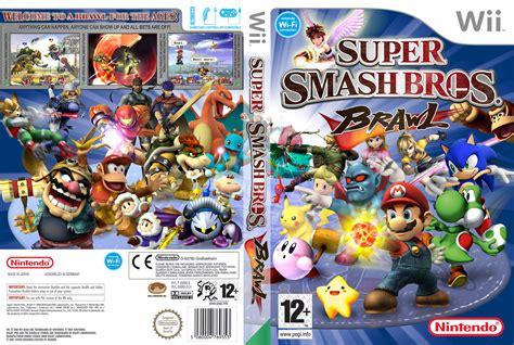 Super Smash Bros Brawl Ntsc Wii Full Wii Covers Cover