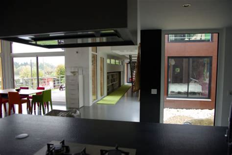 cuisine maison bois maison d 39 architecte maison bois contemporaine maison