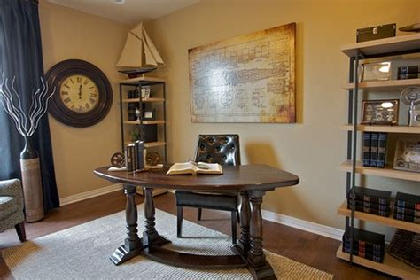 Amazing Of Cool Traditional Home Office Decorating Ideas #5175