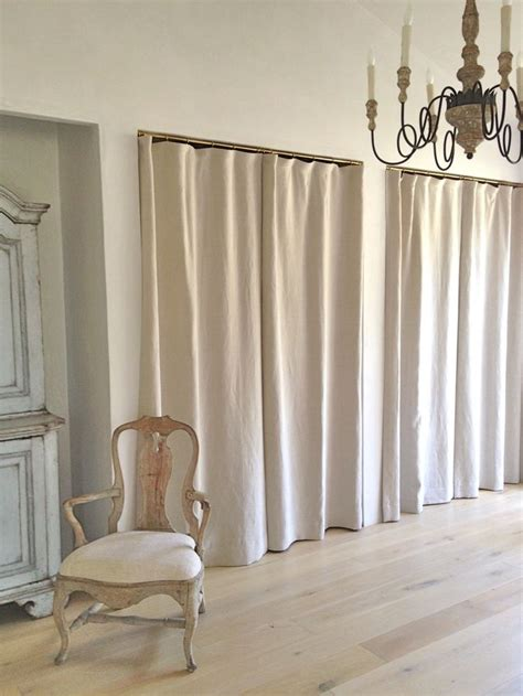1000 ideas about closet door curtains on