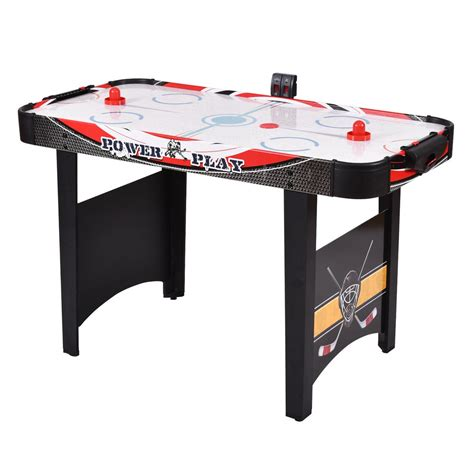 air hockey table game 48 quot air powered hockey table indoor sports game electronic