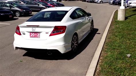 2012 Honda Civic Si For Sale by 2012 Honda Civic Si Hfp For Sale Ontario