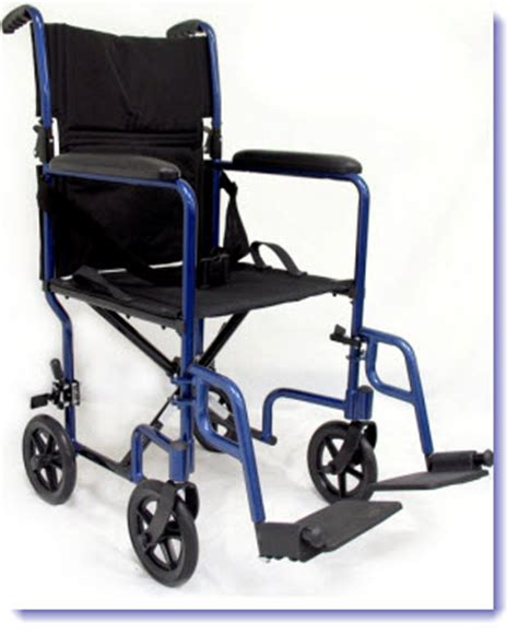 ultra light weight transport wheelchair with fixed