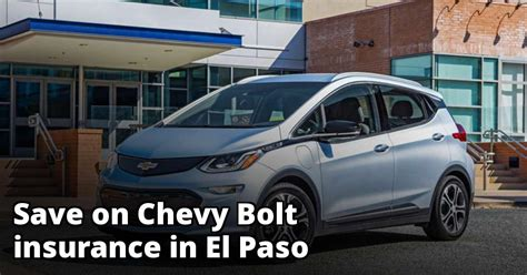 The chevrolet bolt is here, and it's one remarkable ride. Affordable Insurance for a Chevy Bolt in El Paso
