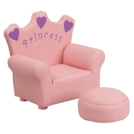 chaise minnie mfo pink princess chair and footrest