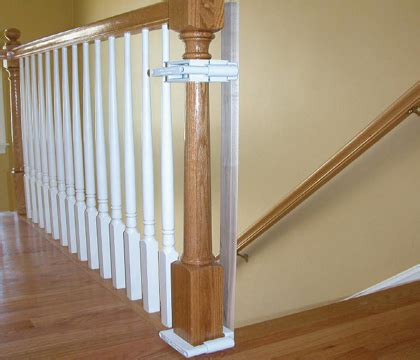 Banister Installation Kit - stairway gate installation kit