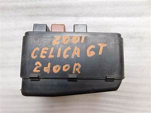 01 2001 Toyota Celica Gt 2 Door Under Hood Relay And Fuse