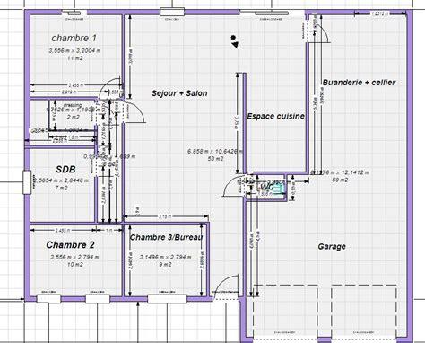 plan maison 100m2 plein pied 3 chambres plan maison plain pied 100m2 votre avis 87 messages