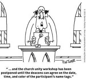 Church Unity Cartoons