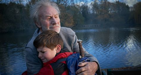patrick stewart plays patrick stewart plays merlin in family action movie the