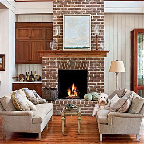brick  stone fireplaces