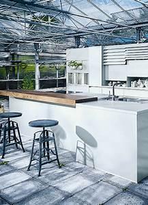 Kücheninsel Bar Theke : eine wei e k cheninsel ist ein traum bilder und ideen f r traumk chen mit wei en kochinseln ~ Markanthonyermac.com Haus und Dekorationen