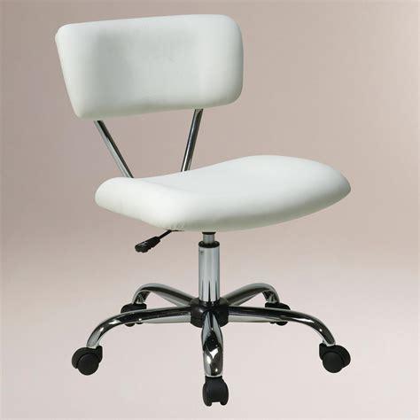 white task chair world market