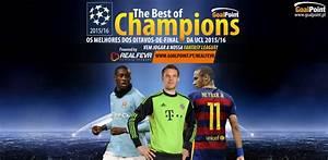 Champions League   O melhor XI dos oitavos!   GoalPoint