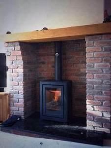 Wood burning stove - no surround Wood burners Pinterest