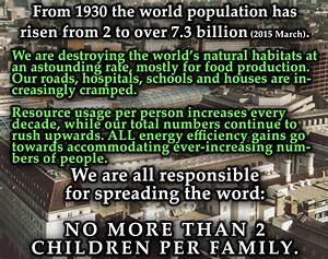 Essay on overpopulation in world