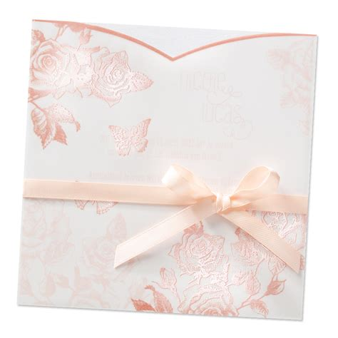 einladungskarten rosenhochzeit top kartenliefera