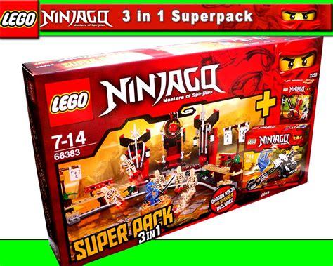 lego exclusive  ninjago    super pack