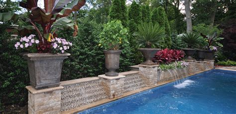home interior color trends properly landscaping around your pool kansas city homes