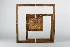 Deko Holz Wand : madeheart handmade deko runde holz wanduhr designer uhr wand f r interieur des hauses ~ Eleganceandgraceweddings.com Haus und Dekorationen