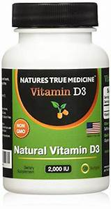 Vitamin D3 2000iu Supplement With Premium Quality Ingredients  U2013 High Potency D