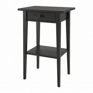 Table De Nuit Haute : hemnes nightstand black brown ikea ~ Teatrodelosmanantiales.com Idées de Décoration