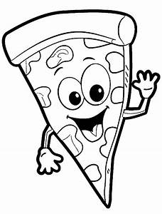 Pizza Coloring Pages Wecoloringpage