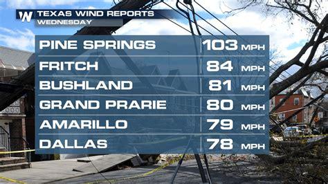 video high winds topple semi trucks  texas weathernation