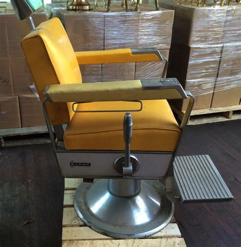 Theo A Kochs Barber Chair Models by Theo O A Kochs Antique Barbers Chair 1960 I Green