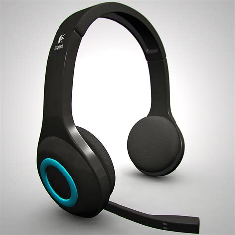 3d logitech wireless headset