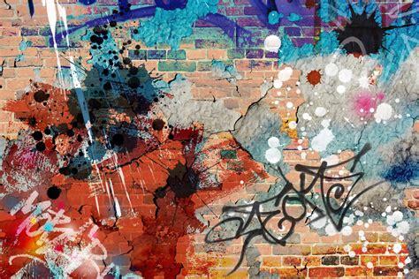grunge graffiti wallpaper wall mural muralswallpaper co uk