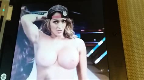 Nikki Bella Nude And Being Covered In Cum Eporner