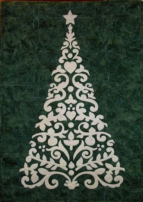Applique Teresa by Applique Tree Quilt Pattern By Teresa Henderson Tope